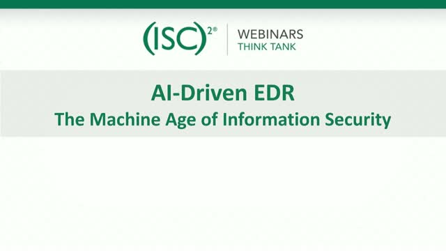 AI-Driven EDR - The Machine Age of Information Security