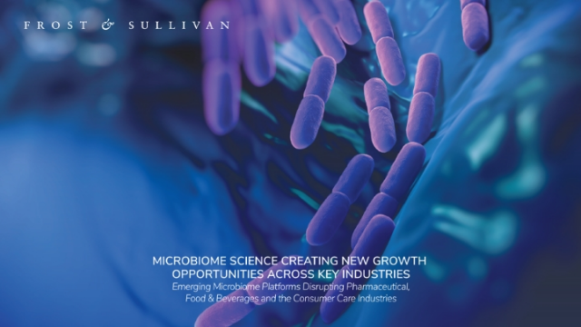 Microbiome Science Creating New Growth Opportunities Across Key Industries