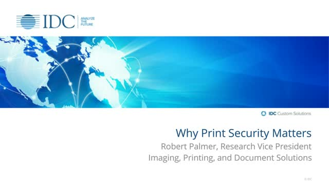 Why Print Security Matters
