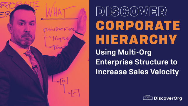 Discover Corporate Hierarchy: Using Multi-Org Enterprise Structure to Increase S