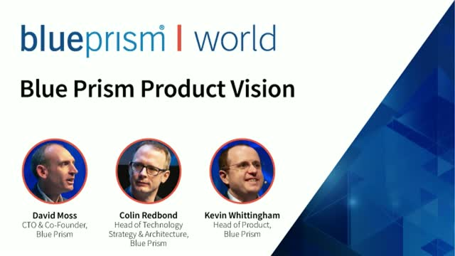 Blue Prism Product Vision