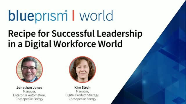 Recipe for Successful Leadership in a Digital Workforce World: Chesapeake Energy