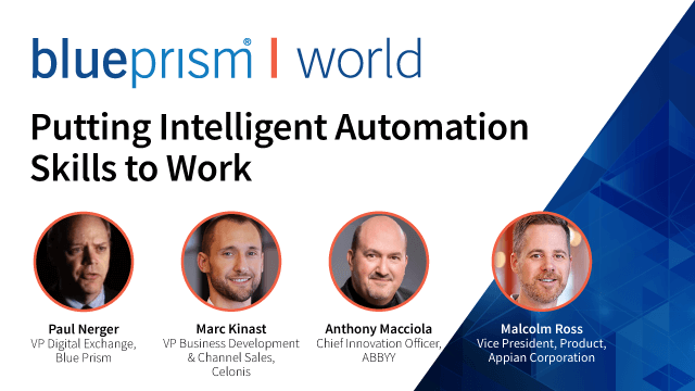 Putting Intelligent Automation Skills to Work