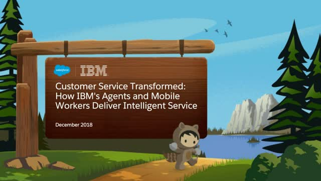 Future of Service in a Customer Centric World - Learnings from 2018