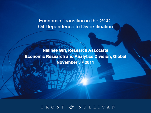 Economic Transition in the GCC: Oil Dependence to Diversification
