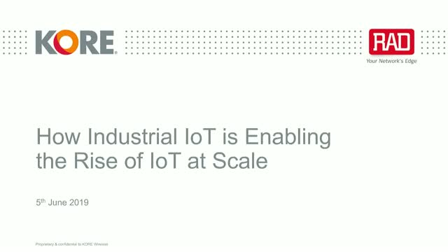 How Industrial IoT is Enabling the Rise of IoT at Scale