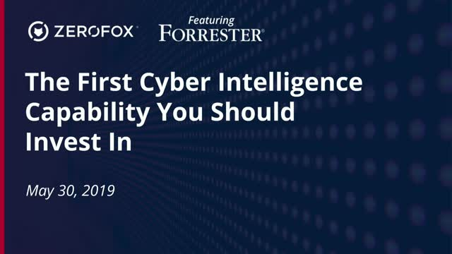 The First Cyber Intelligence Capability You Should Invest In