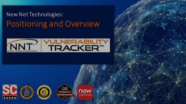 NNT Vulnerability Tracker™ Overview