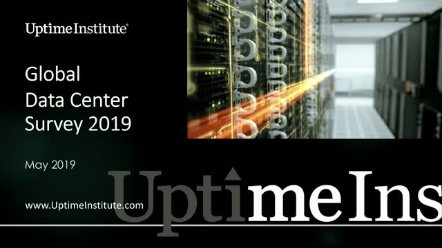 Uptime Institute 2019 Data Center Industry Survey Results