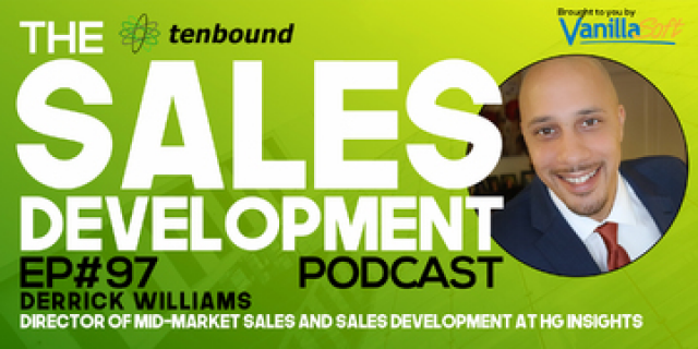 Derrick Williams - The Science and Art of Sales Development