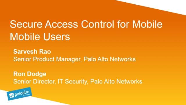 Secure Access Control for Mobile Users