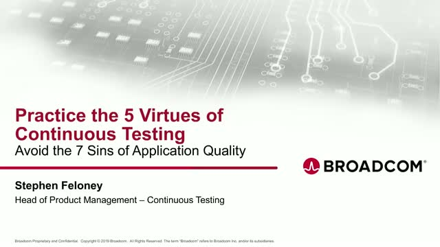 5 Best Practices for Embracing and Adopting Continuous Testing