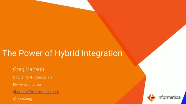 The Power of Hybrid Integration Platform: Take advantage of Cloud Agility