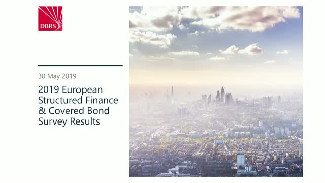 DBRS Webinar: 2019 Structured Finance and Covered Bond Survey Results
