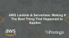 AWS Lambda & Serverless: Making It the Best Thing that Happened to AppSec