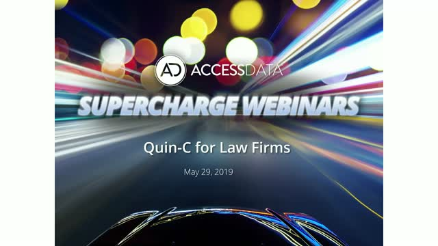 Quin-C for law firms