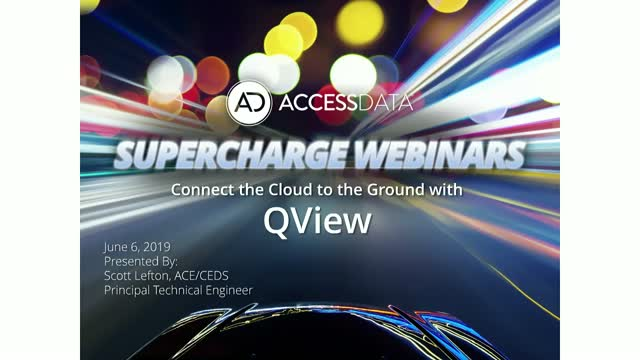 Connect the Cloud to the Ground with QView