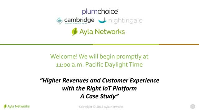 Higher Revenues and Customer Experience With the Right IoT Platform - a Case Stu