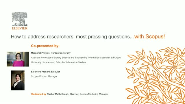 How Scopus can help address researchers' most pressing questions