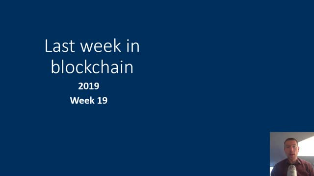 Last week in blockchain #57