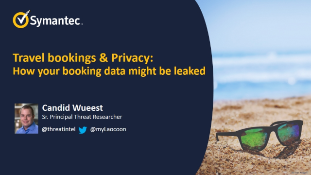 Travel Bookings & Privacy: How Booking Data Might Be Leaked