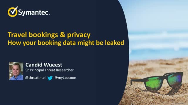 Travel Bookings: Personal Data and Privacy at Risk