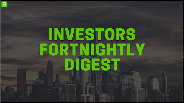 Investors Fortnightly Digest: Where ESG Experts Meet - Market Updates and Trends