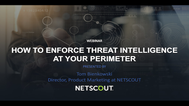 How to Enforce Threat Intelligence at Your Perimeter
