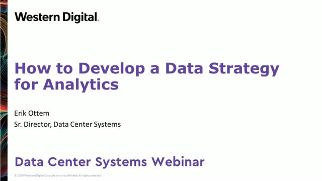 How to Develop a Data Strategy for Analytics