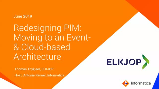 Redesigning PIM: Moving to an Event- and Cloud-based Architecture