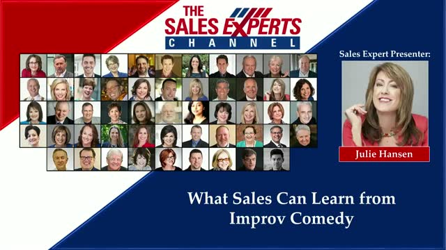 What Sales Can Learn from Improv Comedy