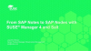 From SAP Notes to SAP Nodes, with SUSE Manager 4 and Salt