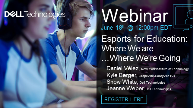 Esports for Education: Where We Are … Where We're Going