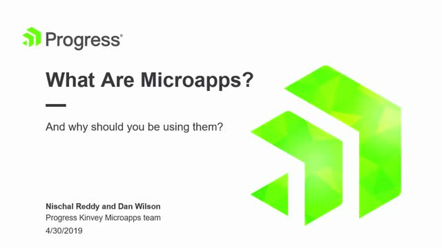 What Are Microapps—and Why Should You Be Using Them?