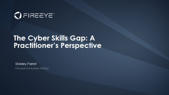 The Cyber Skills Gap: A Practitioner's Perspective
