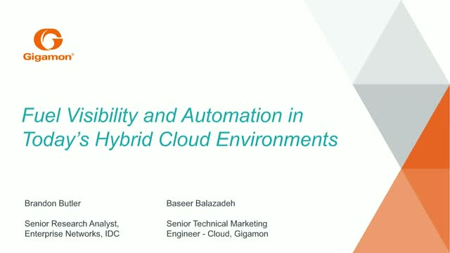 Fuel Visibility and Automation in Today's Hybrid Cloud Environments