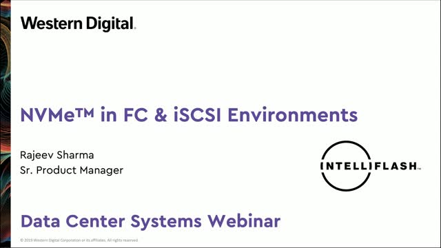 How to Leverage NVMe-based Storage in Existing FC SAN and iSCSI Environments