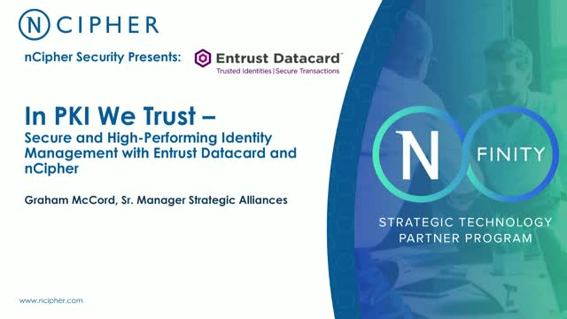 In PKI we trust – secure & high-performing identity management