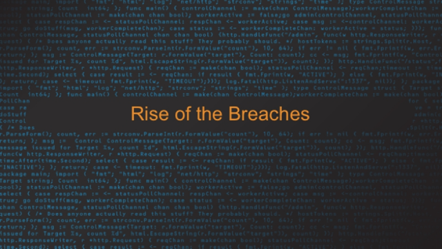 Troy Hunt - 'Rise of the Breaches'