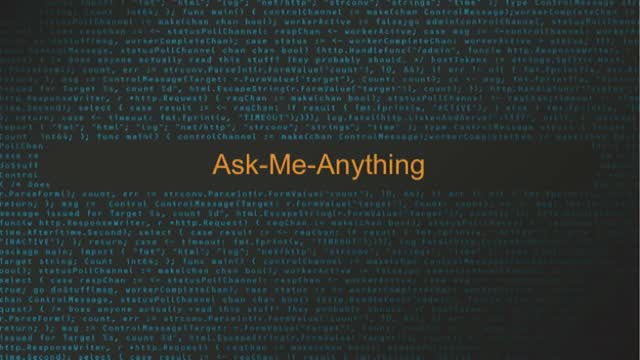 AMA Live! For all your security questions