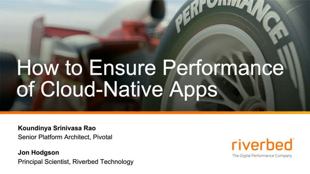 How to Ensure the Performance of Your Cloud-Native Apps with Automation