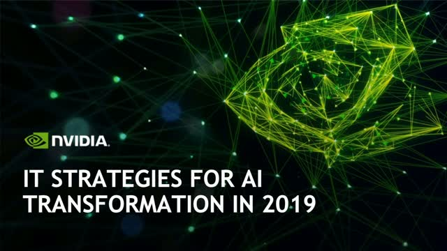 IT Strategies for AI Transformation in 2019