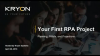 Your First RPA Project: Planning How to Start