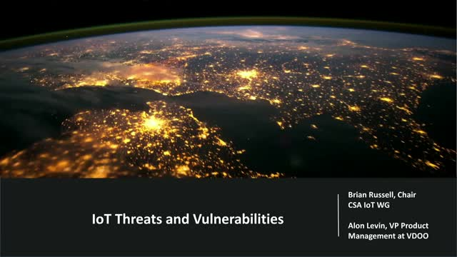 IoT Threats and Vulnerabilities