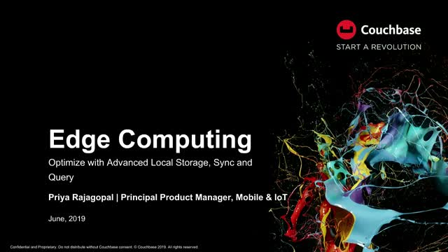 Edge Computing: Optimize With Advanced Local Storage, Sync, and Query