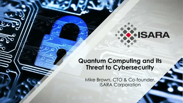 Quantum Computing and its Threat to Cybersecurity