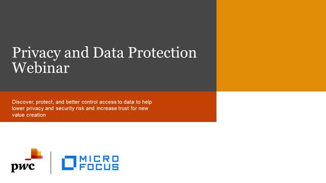 Privacy and Data Protection