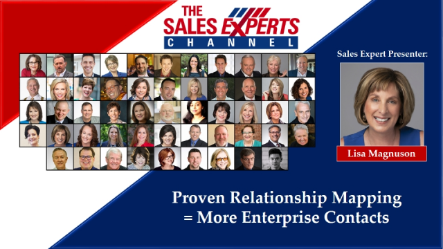 Proven Relationship Mapping = More Enterprise Contacts