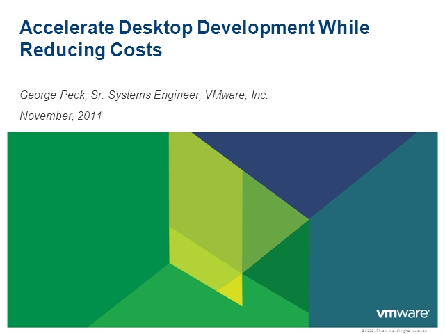 Accelerate Desktop Deployment While Reducing Costs
