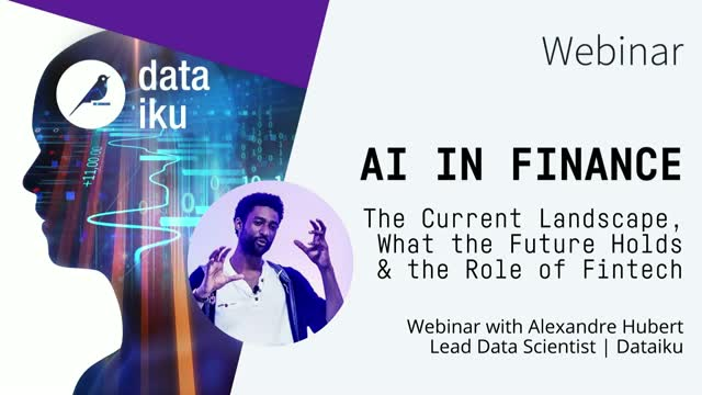 AI in Finance: The Current Landscape, What the Future Holds, the Role of Fintech